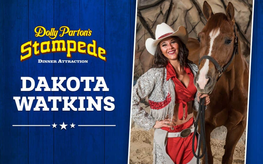 Multi World Champion Rider, Dakota Watkins Joins Cast At Dolly Parton's Stampede In Branson