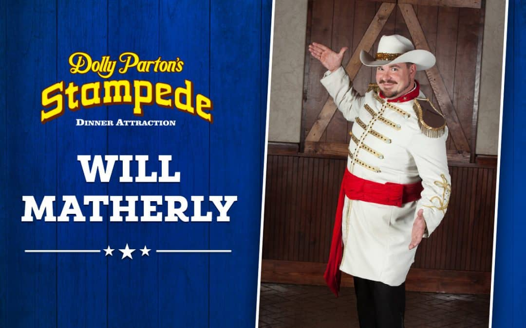 MC Will Matherly In His Sixth Year At Dolly Parton's Stampede In Branson