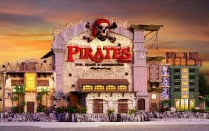 Construction update from Pirates Voyage in Pigeon Forge, TN