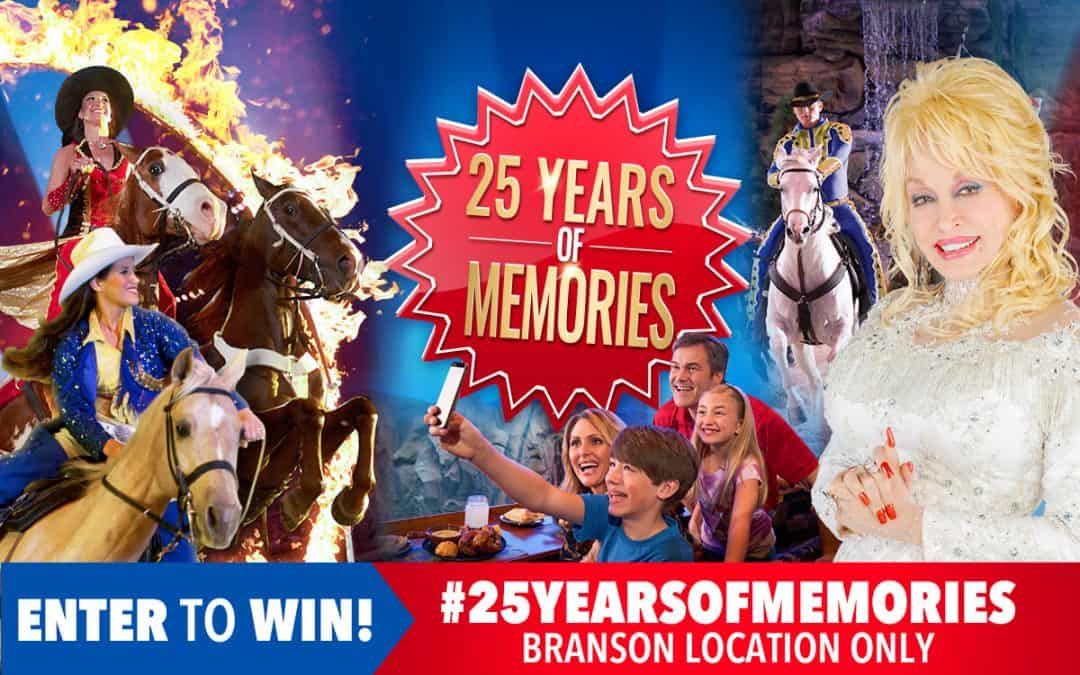 25 Years Of Memories Photo Sweepstakes