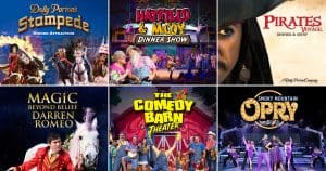 Build Your Own Discount Combo Pigeon Forge Dinner Shows
