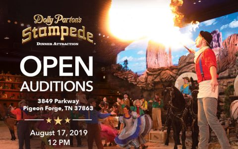 Open Auditions Aug. 17 At Dolly Parton's Stampede Pigeon Forge