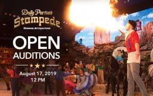 Open Auditions at Dolly Parton's Stampede