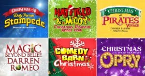 Build Your Own Christmas Discount Combo Pigeon Forge Dinner Shows
