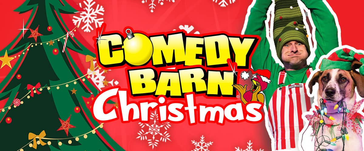 Comedy Barn Christmas Show in Pigeon Forge TN