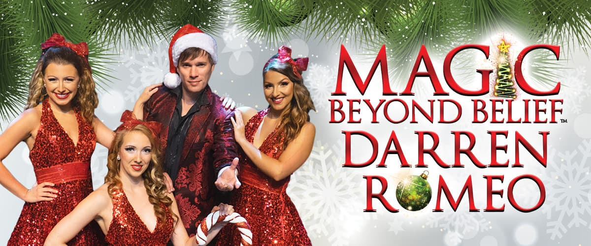 Magic Beyond Belief Darren Romeo Christmas Show in Pigeon Forge TN