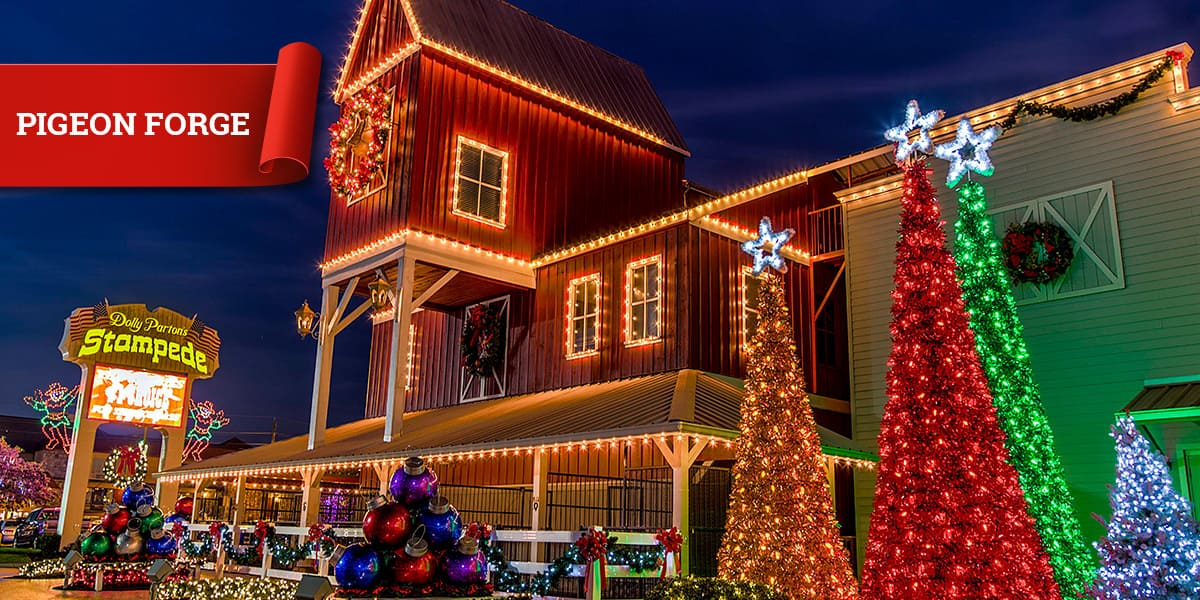 Christmas at Dolly Parton's Stampede in Pigeon Forge