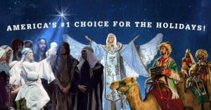 America's #1 Choice for the Holidays - Christmas at Dolly Parton's Stampede Dinner Attraction