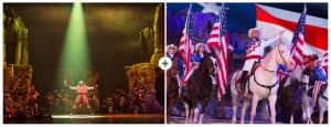 Branson Vacation Packages - Samson and Christmas at Dolly Parton's Stampede