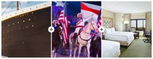 Pigeon Forge Vacation Packages - Christmas at Dolly Parton's Stampede, Titanic, and Hotel Lodging