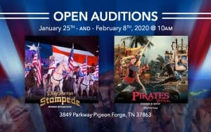 Open Auditions at Dolly Parton's Stampede in Pigeon Forge