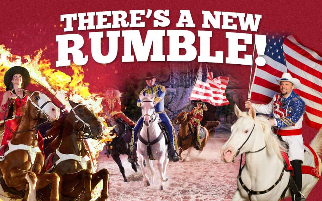 """New """"Rumble in the Treetops"""" At Dolly Parton's Stampede In Branson, MO"""
