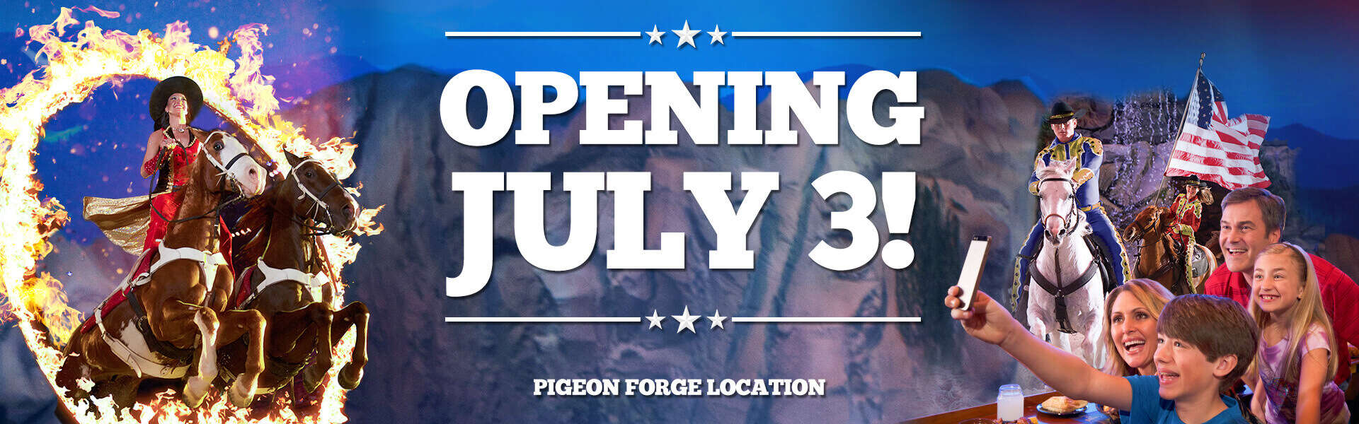 Dolly Parton's Stampede Reopening July 3 in Pigeon Forge, TN