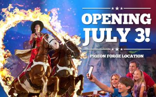 Dolly Parton's Stampede Pigeon Forge Resumes Operation July 3