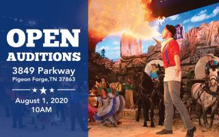 Open Auditions August 1 at Dolly Parton's Stampede In Pigeon Forge
