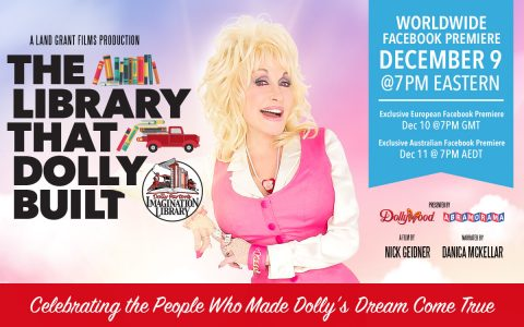 Dolly Parton's Imagination Library Documentary Premiering December 9