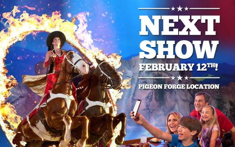Dolly Parton's Stampede in Pigeon Forge Returns On February 12