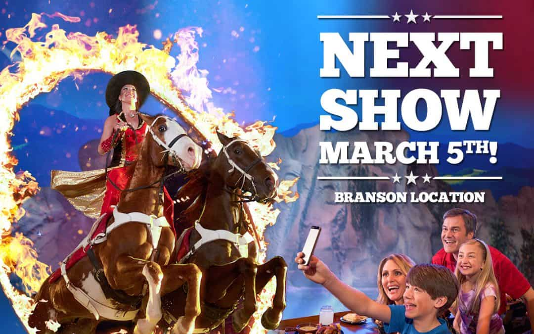 Dolly Parton's Stampede in Branson Kicks Off On March 5th